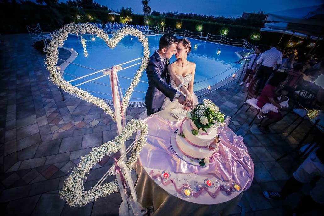 Ricevimento Sposi in Piscina Hotel 4 stelle Lanciano