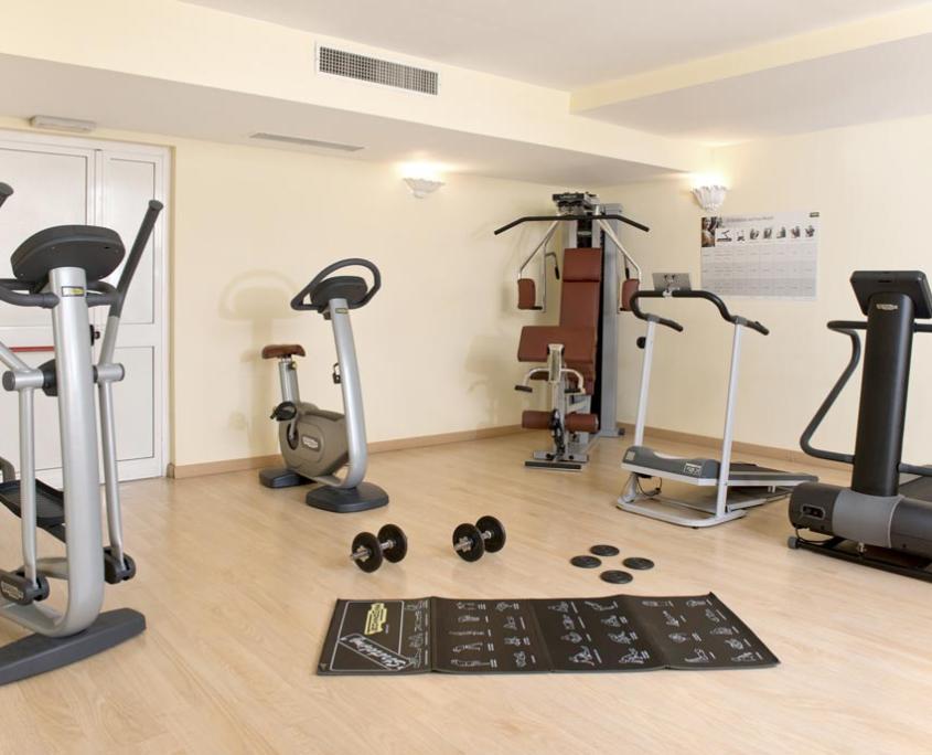 Sala Fitness Albergo 4 stelle Lanciano Abruzzo