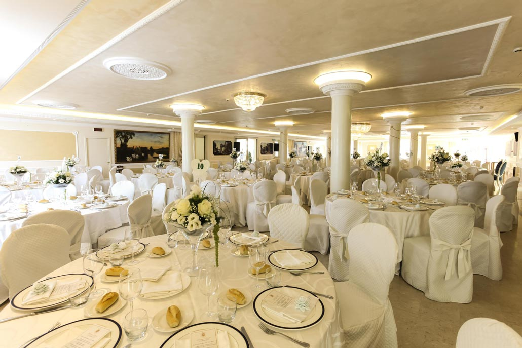Sala Ricevimento Sposi Hotel 4 stelle Abruzzo