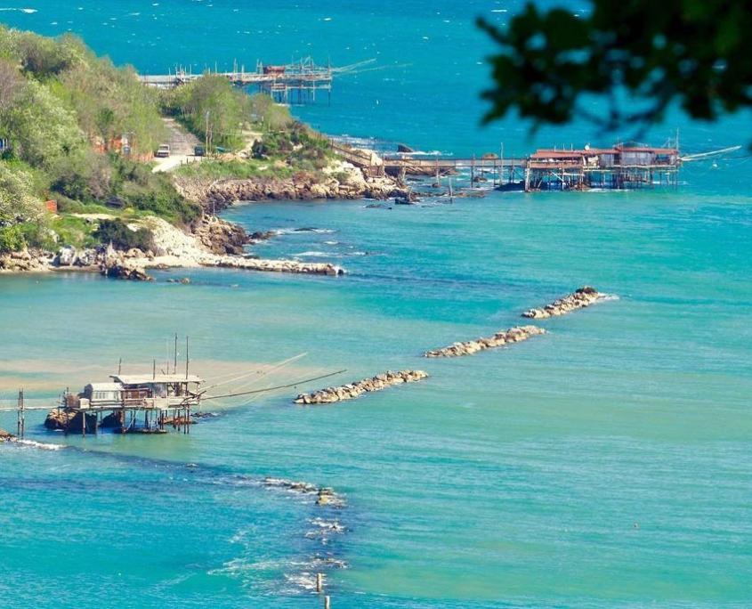 Spiaggia vicino Hotel Villa Medici San Vito Chietino
