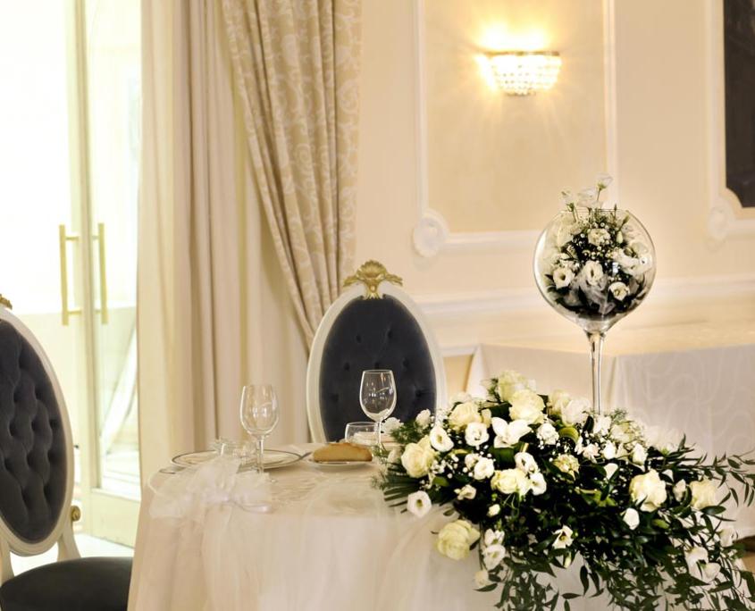 Tavolo degli Sposi Hotel per Matrimoni in Abruzzo
