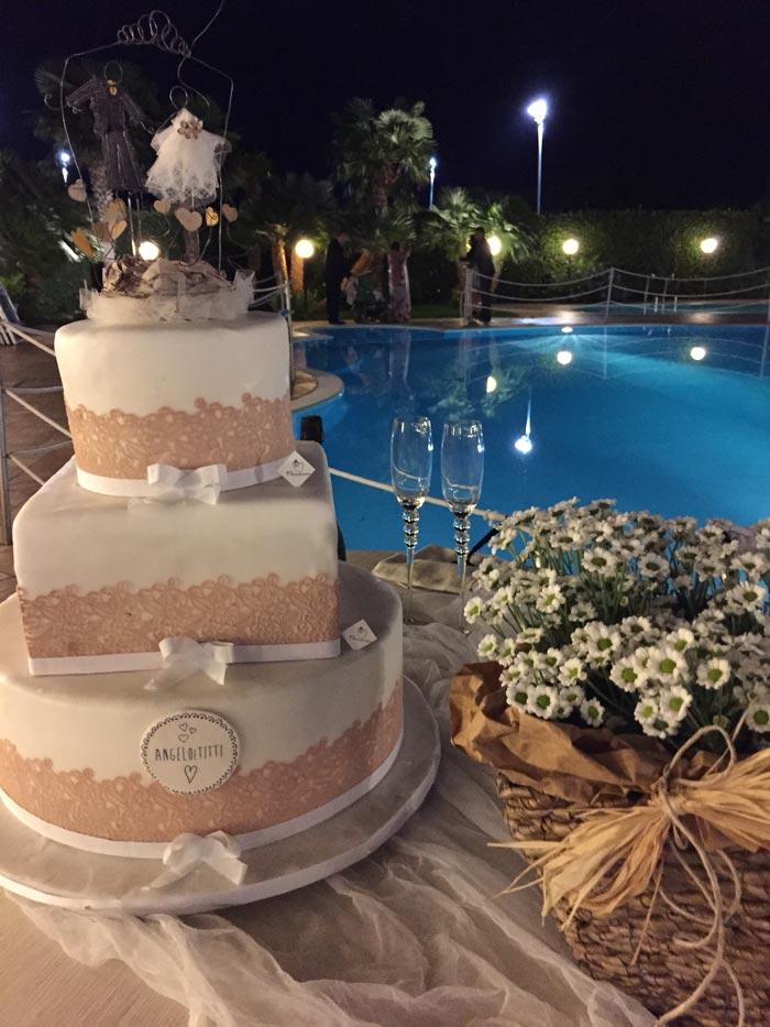 Torta Nuziale Wedding Hotel 4 stelle